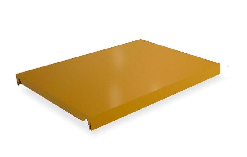Hylleplate til lagerhylle Gerdmanshyllen , gul/Outlet