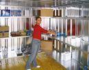 Hyllesystem til utstyrscontainer Totak, 3 hylleplater, BxD 1000x420 mm