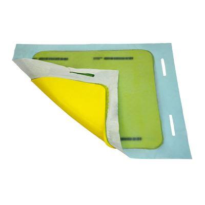 Tetningsmatte med oppbevaringsboks, kvadratisk, LxBxH 900x900x8 mm, 3 stk eller flere