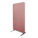 Skjermvegg Domo, LxHxD 864x1600x40 mm, lys rosa