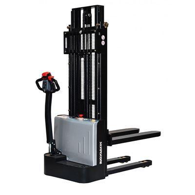Elektrisk stabler ES122, løftekapasitet 1200 kg, løftehøyde 3300 mm