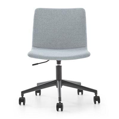 Konferansestol Dexter, med hjul, grå