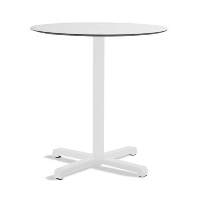 Cafebord Jill, rundt, hvit